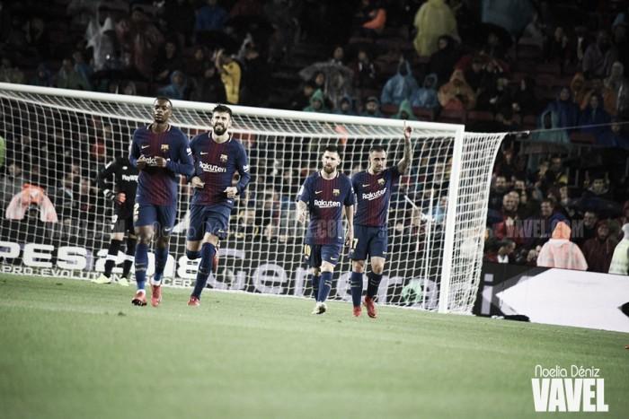 La Liga se funde en Mestalla