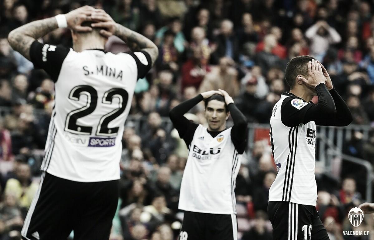 FC Barcelona - Valencia CF: puntuaciones del Valencia, 32ª jornada de la Liga Santander