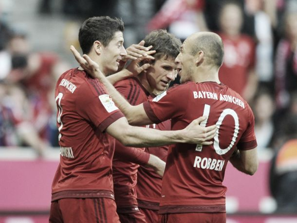Bayern Munich 4-0 VfB Stuttgart: League leaders cruise to another three points