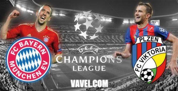 FC Bayern Munich - Viktoria Plzen en direct, suivez le live