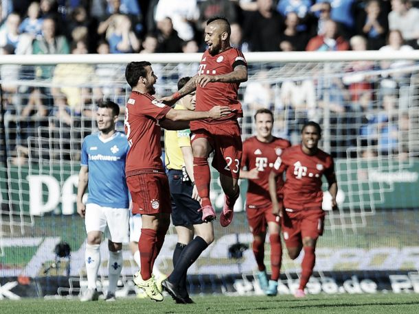 SV Darmstadt 98 0-3 Bayern Munich: Bavarians turn on the style to secure three points