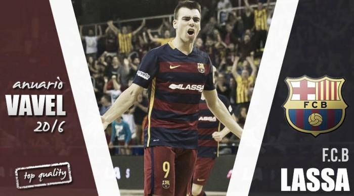 Anuario VAVEL 2016: FC Barcelona Lassa, decepciones y cambios