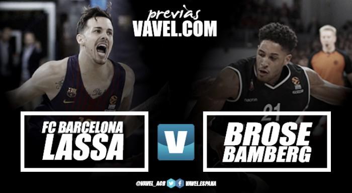 Previa FC Barcelona Lassa- Brose Bamberg: a seguir soñando con los Playoffs