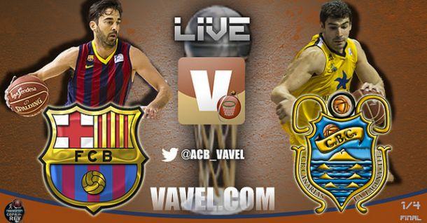 Barcelona - Iberostar Tenerife, Copa del Rey 2014, en directo online