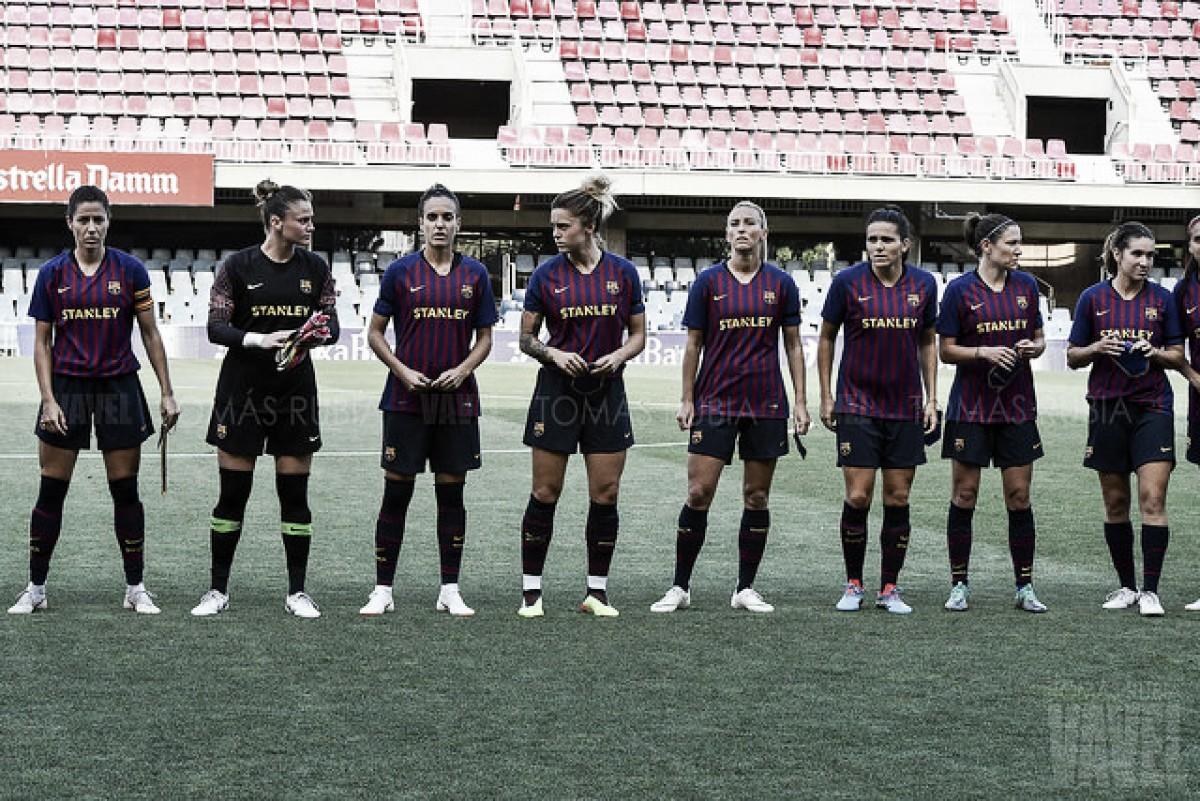 Declaraciones del Barcelona femenino