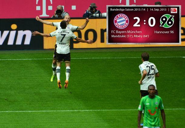Le Bayern retrouve le chemin de la victoire