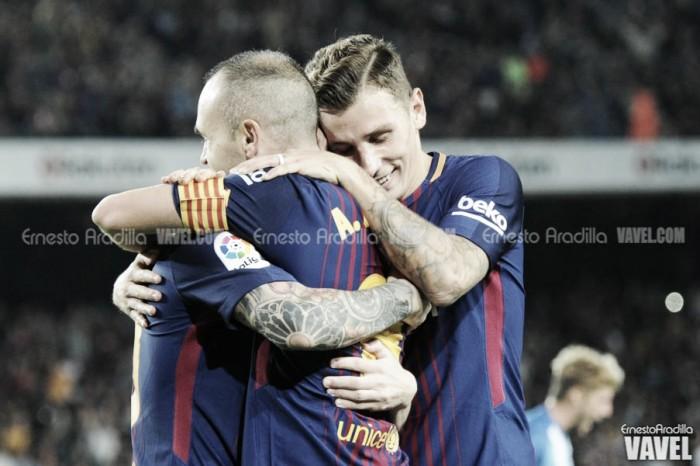 Resumen FC Barcelona 5-0 Real Murcia en Copa del Rey 2017