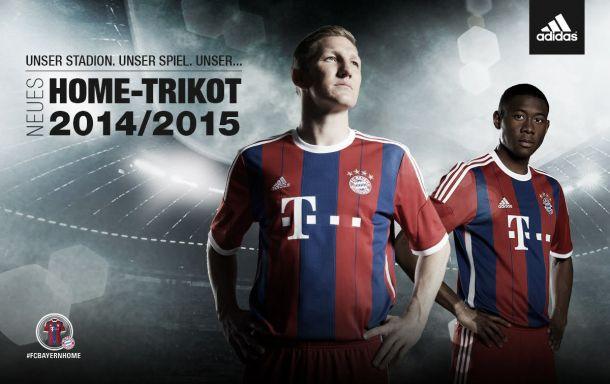 Inspirado na década de 90, Bayern lança uniforme para a temporada 14-15
