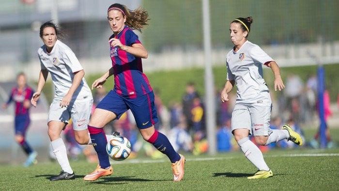 Resultado Atlético Féminas 0-0 Barcelona Femenino en liga 2016: empate a nada