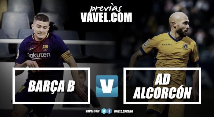 Previa FC Barcelona B vs AD Alcorcón: igualdad absoluta