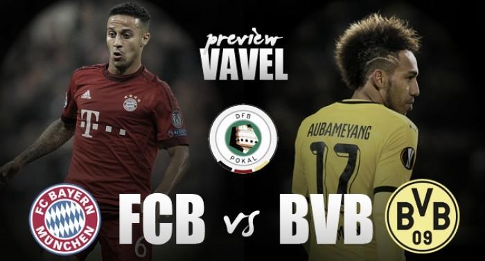 Borussia Dortmund visa acabar sequência negativa na final da DFB Pokal contra arrasador Bayern