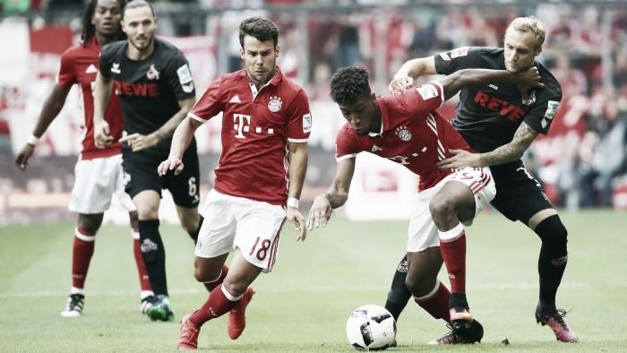 Bayern peca nas finalizações,tropeça contra Colôniae perde 100% na liga