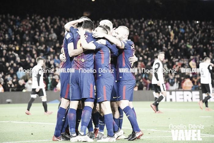 El Barça jugará su quinta final de Copa consecutiva