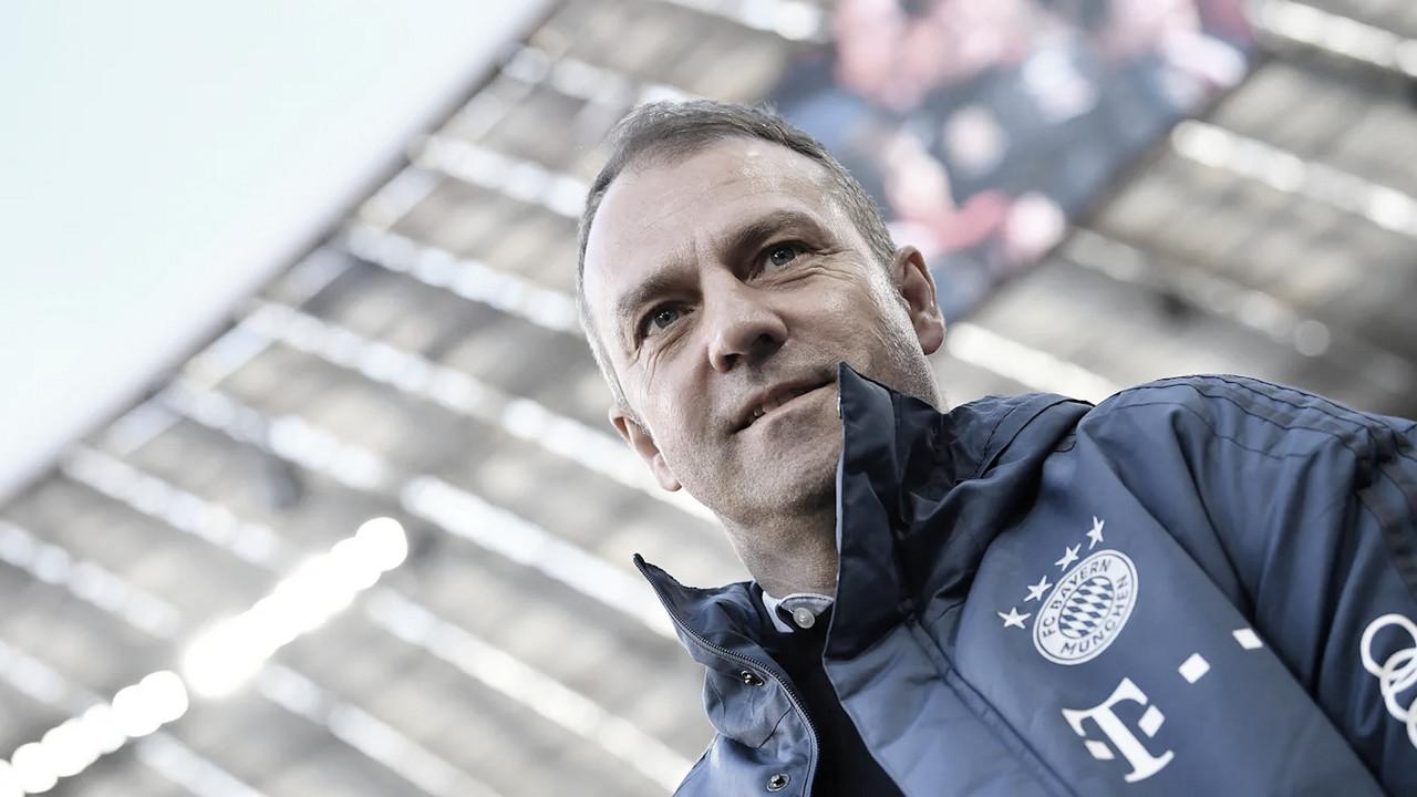 Técnico Hansi Flick tem contrato prorrogado com Bayern de Munique até 2023