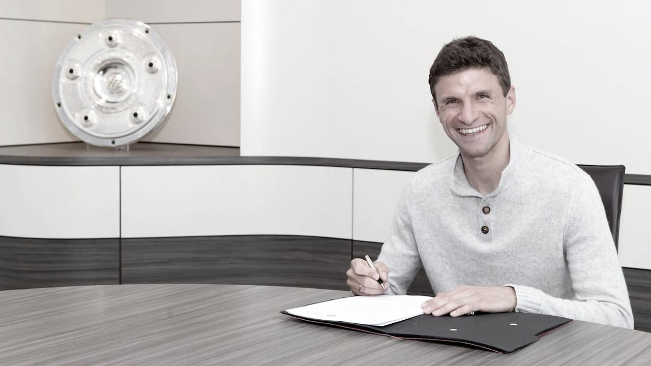 Thomas Müller tem extensão de contrato ampliada e segue no Bayern até 2023