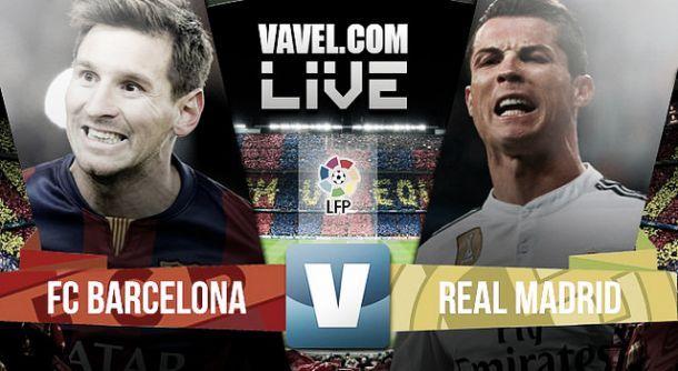Live El Clàsico : le match FC Barcelone - Real Madrid en direct