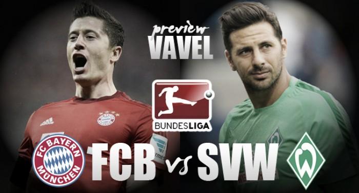 Bayern Munich - Werder Bremen Preview: Die Rot-Weißen aiming to resolve recent form