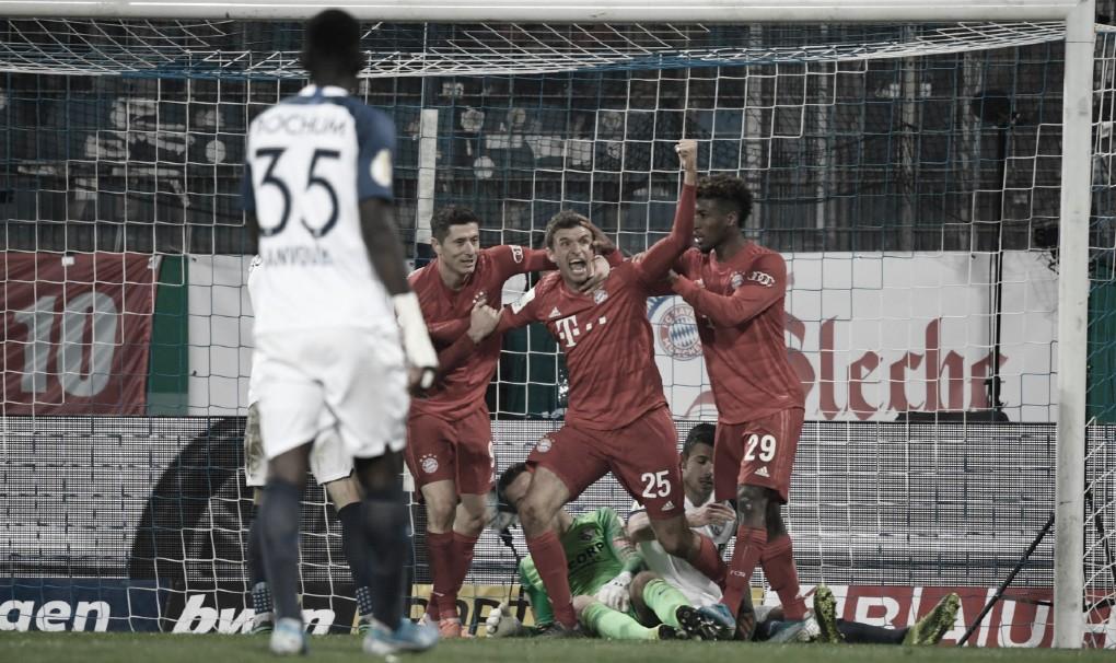 Bayern de Munique sofre, mas elimina Bochum de virada pela Copa da Alemanha
