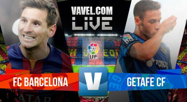 Barcelona vs Getafe en vivo y en directo online en la Liga BBVA 2015