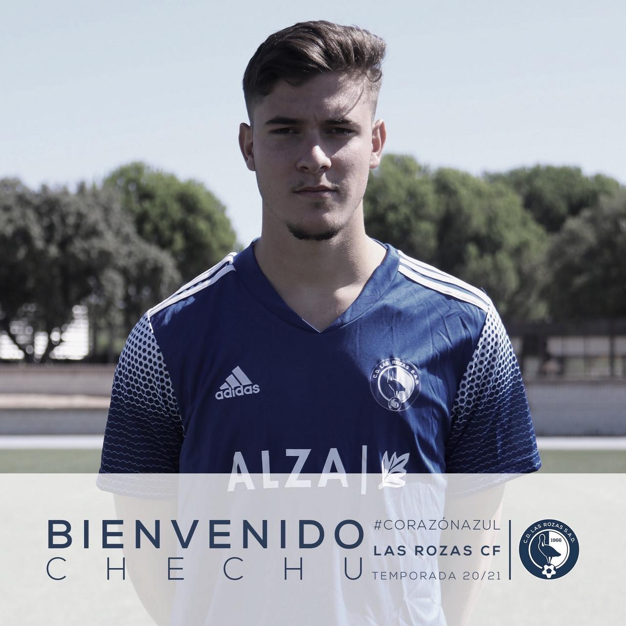 Las Rozas CF oficializa la llegada de Chechu Martínez