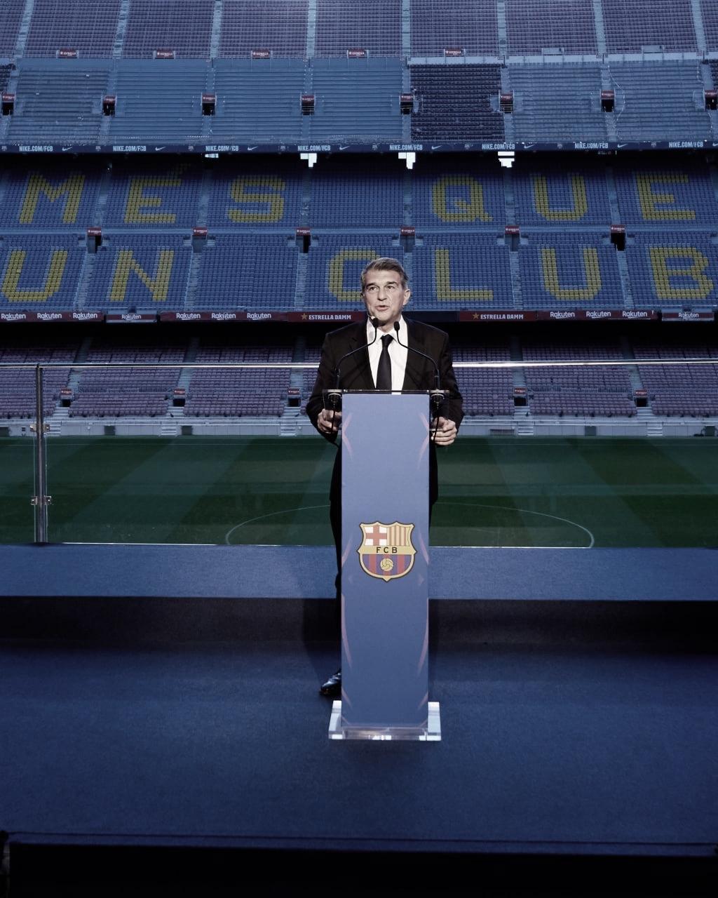 Laporta, oficialmente Presidente del Barcelona