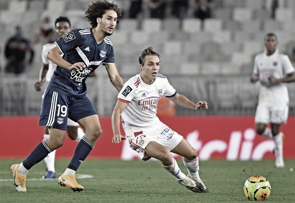 Bordeaux e Lyon empatam e desperdiçam chance de assumir ponta na Ligue 1