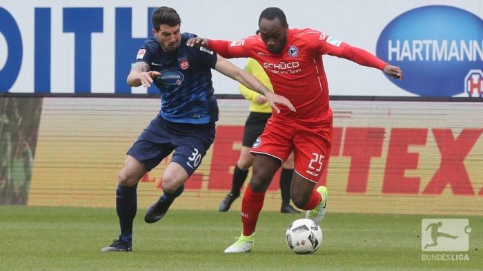 1. FC Heidenheim 2-2 Arminia Bielefeld: Four-goal flurry sees spoils shared in Heidenheim