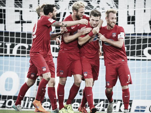 FSV Frankfurt 0-4 1. FC Heidenheim: First-half show sees Heidenheim claim all three points