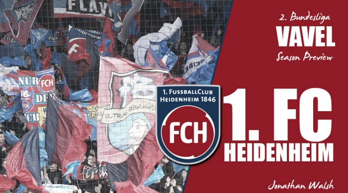 1. FC Heidenheim - 2. Bundesliga 2016-17 season preview: Schmidt's side hoping for more of the same