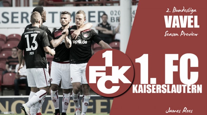 1. FC Kaiserslautern - 2. Bundesliga season preview: Can imagination end their exile from the Bundesliga?