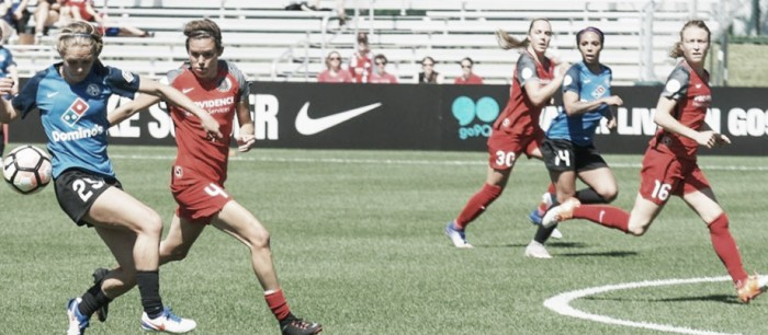 FC Kansas City and the Portland Thorns hold each other to a 0-0 draw