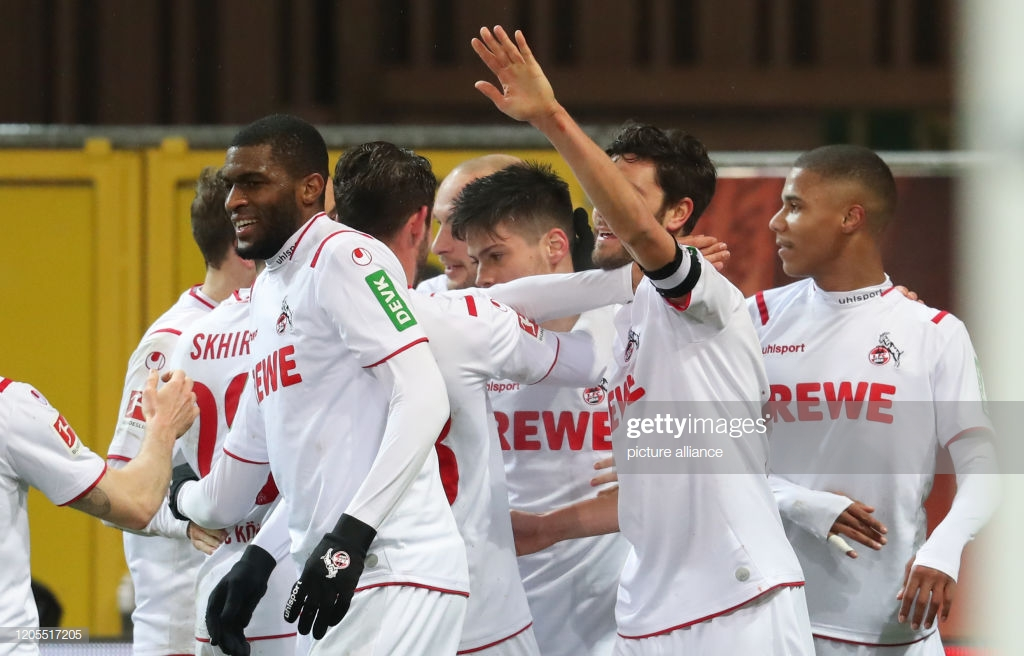 SC Paderborn 1-2 FC Koln: The Billy Goats move to within 4 points of the Europa League places with another win
