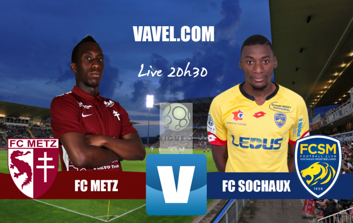 Revivezle match FC Metz - FC Sochaux-Montbéliard (1-0)