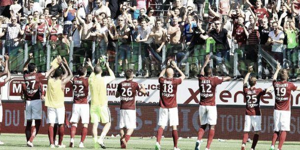 Ligue 2 (5ème journée) : Metz reste leader, Nancy s'accroche
