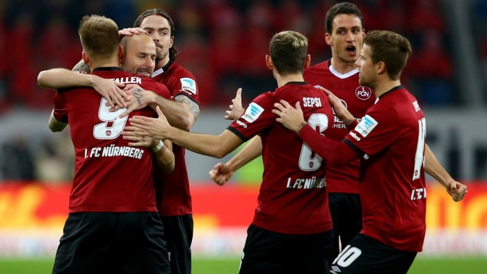 Fortuna Düsseldorf 0-2 1. FC Nürnberg: Visitors get back to winning ways