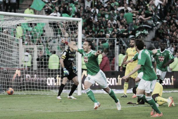 Na Ligue 1, Saint-Étienne bate Nantes fora de casa e segue na cola do Lille
