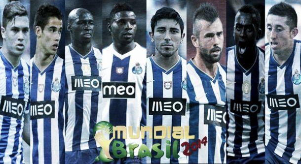 Porto empresta oito atletas ao Mundial 2014