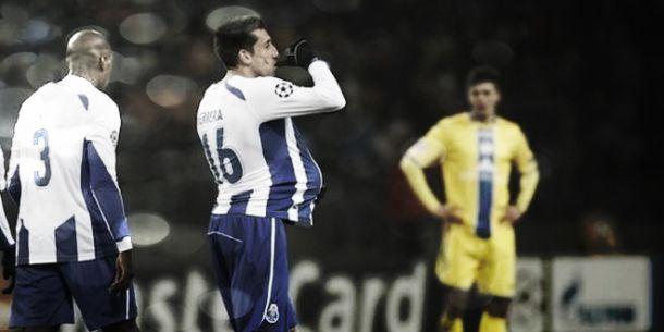 Herrera quebrou o gelo e o FC Porto consolidou primeiro lugar