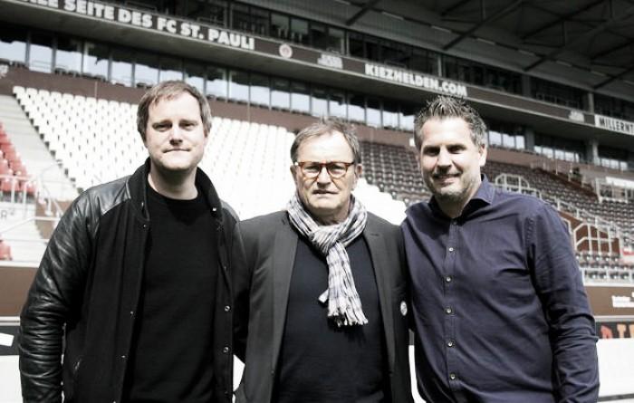 Ewald Lienen signs St. Pauli extension