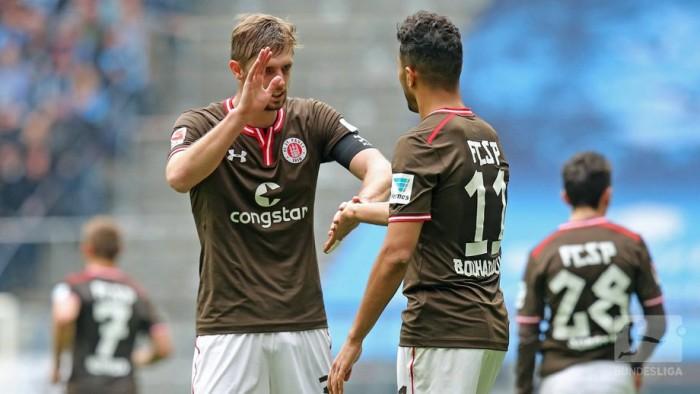 1860 Munich 1-2 FC St. Pauli: Comeback Kiezkicker win in Munich
