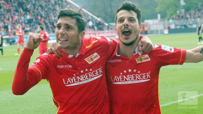 1. FC Union Berlin 2-1 SV Sandhausen: 10-man Union get back to winning ways