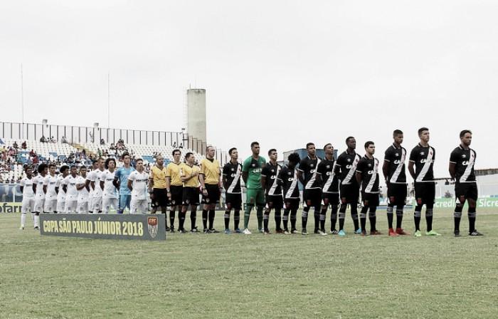 Vasco empata com Espírito Santo e perde a chance de se classificar antecipadamente na Copa SP