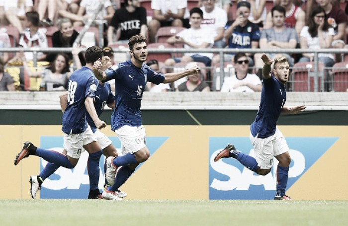 Germany under-19 0-1 Italy under-19: Meret's magic helps Italy to three unlikely points