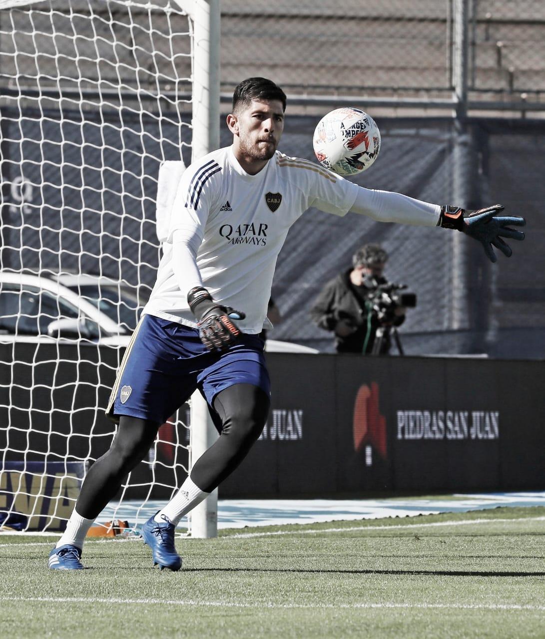 """Agustín Rossi: """"Fue un partido donde ellos se metieron todos atrás y nos costó entrar"""""""