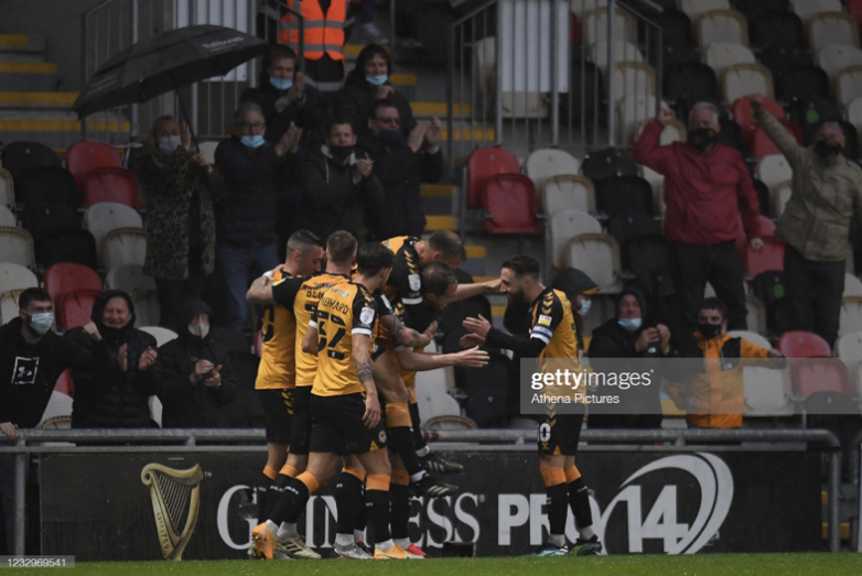 Newport County 2-0 Forest Green Rovers: Exiles excel as Dolan wonder strike inspires play-off advantage