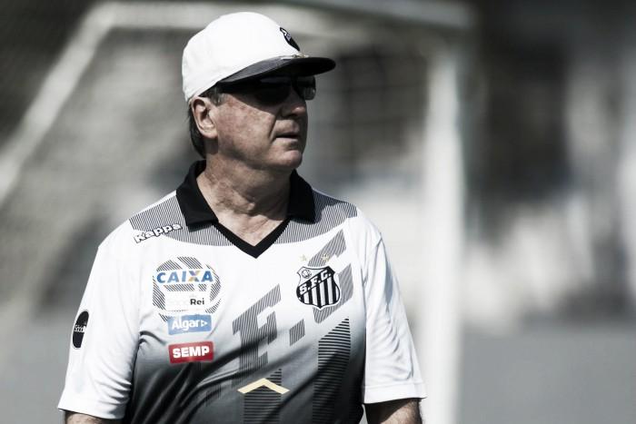 Levir pede apoio da torcida e afirma que Santos pode deslanchar no Brasileirão