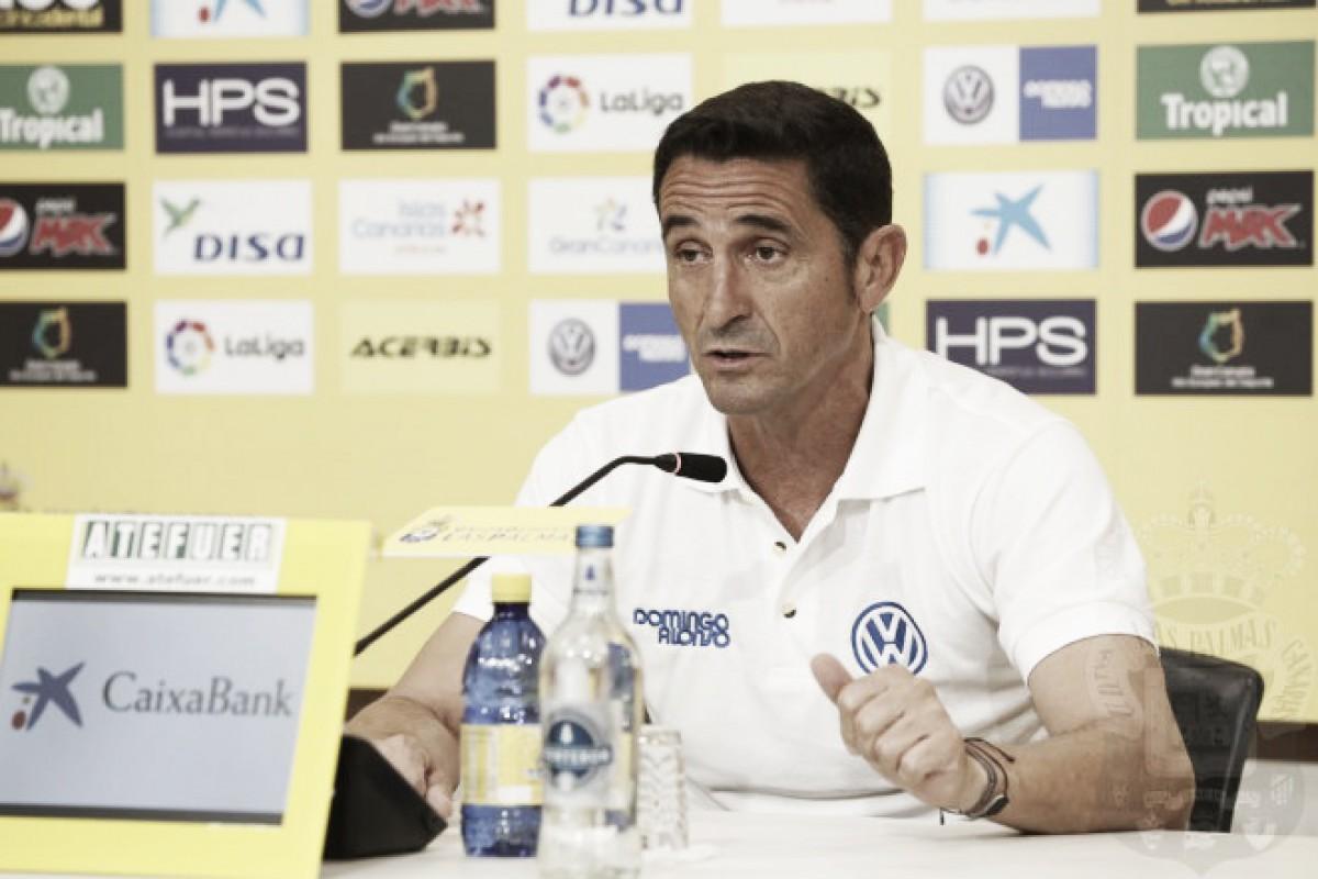 """Manolo Jiménez: """"Era una victoria importante porque generaba mucha incertidumbre"""""""