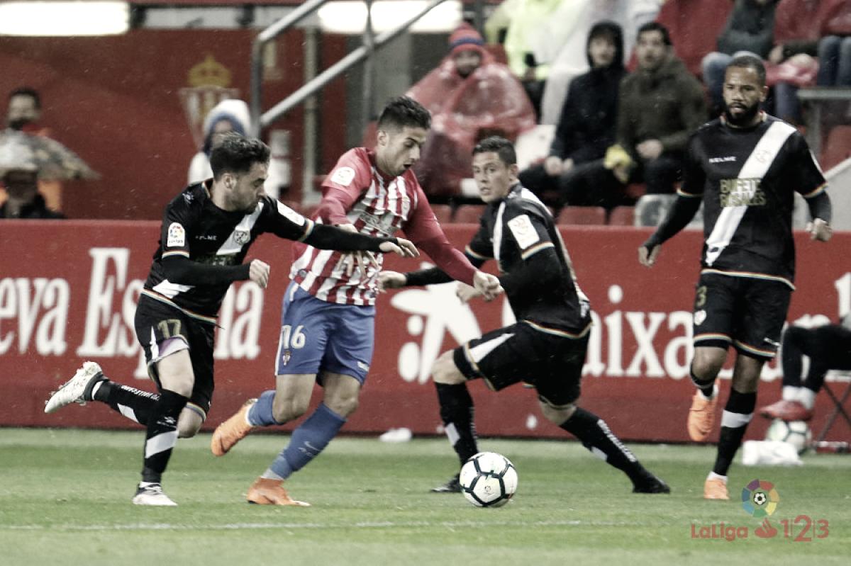 Resumen de la temporada 2017/2018: Rayo Vallecano, centrocampistas, el motor del equipo