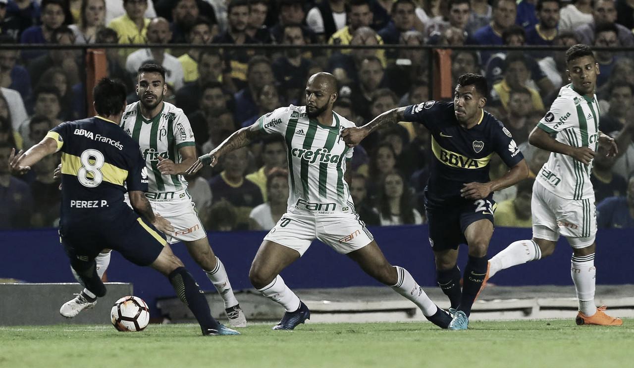 Boca Juniors e Palmeiras se reencontram em disputa por vaga na final da Libertadores