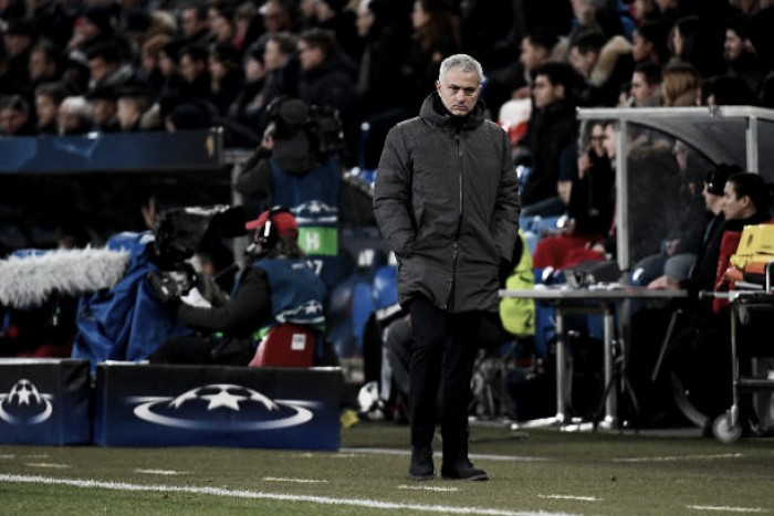 """Apesar de revés, Mourinho mostra satisfação com partida do United: """"Fizemos bom primeiro tempo"""""""
